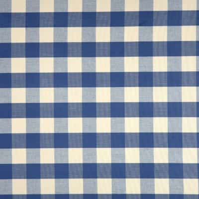 Bodiam Blue PVC Tablecloth