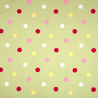 confetti sage pvc tablecloth