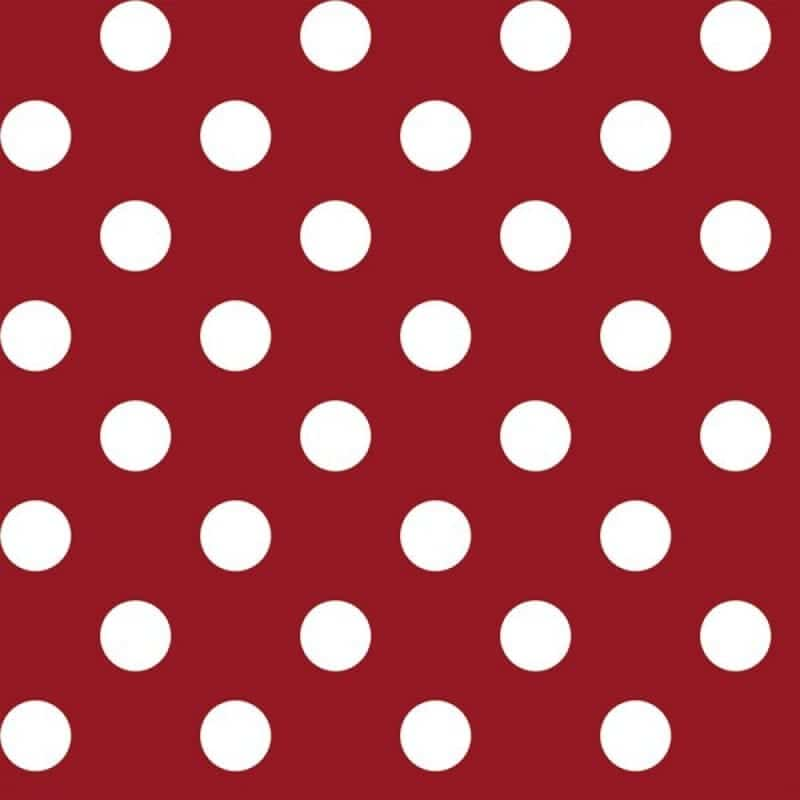 big dot red tablecloth