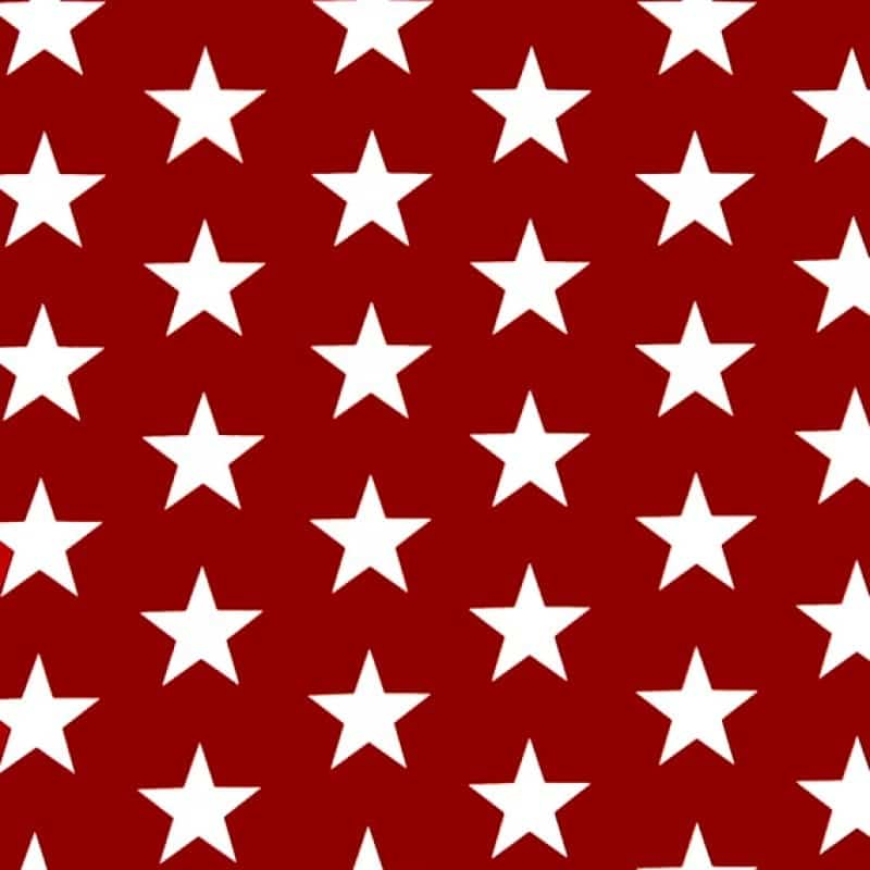 red star tablecloth