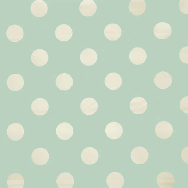 big dot duck egg pvc tablecloth