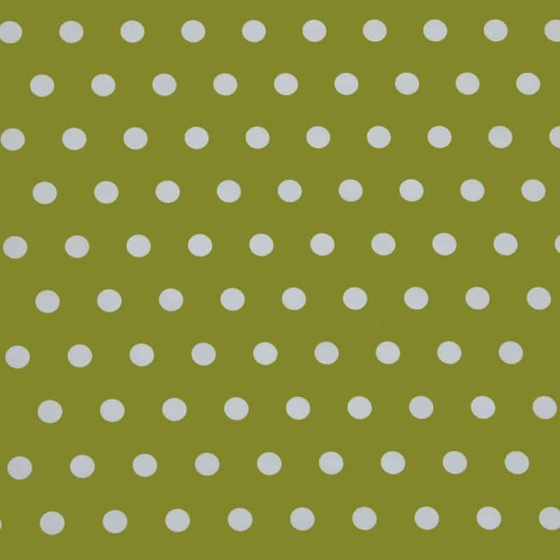 Apple polka dot oilcloth