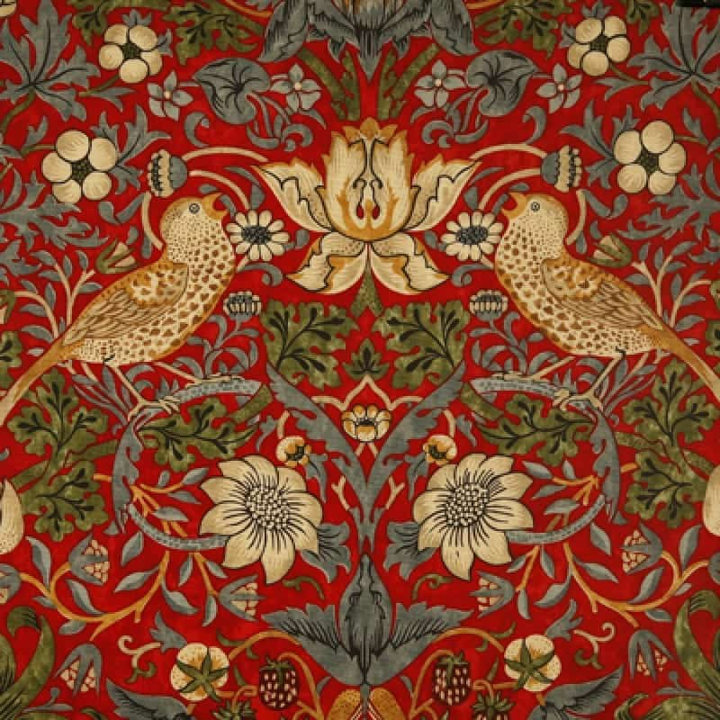 william morris wipe clean tablecloth