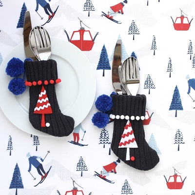 MINI WOOLLY CHRISTMAS STOCKINGS