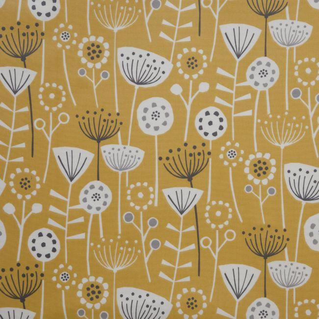 Yellow tablecloths