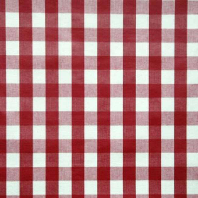 Red tablecloths