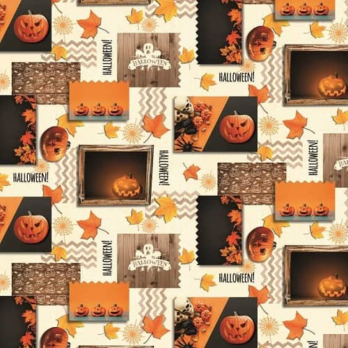 Halloween Tablecloths from Wipe Easy