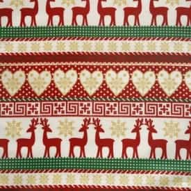 Wipeable Christmas Patterned Tablecloths