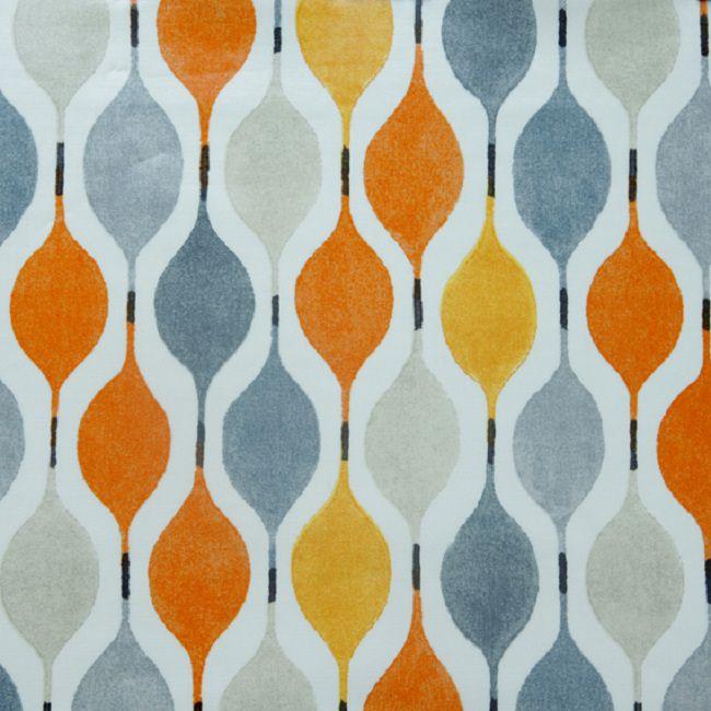 Orange tablecloths