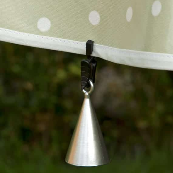 Tablecloth Clips And Weights by Wipe Easy