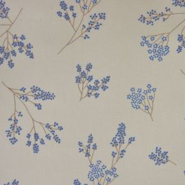 Alberte French Blue oilcloth tablecloth