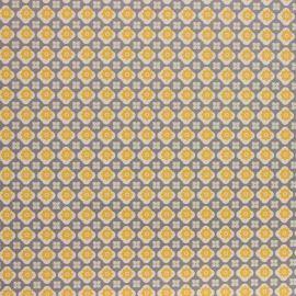 Alexa Ochre PVC tablecloth