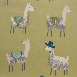 Alpaca Pampas oilcloth tablecloth