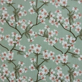 Amalie Sage oilcloth tablecloth