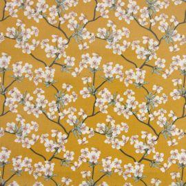Amalie Mustard oilcloth tablecloth