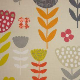 Annika Tutti Fruity oilcloth tablecloth