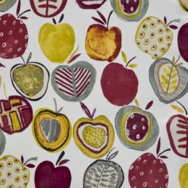Apples berry oilcloth tablecloth