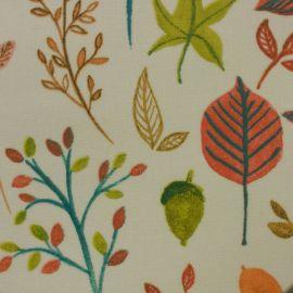Aramante Orange oilcloth tablecloth