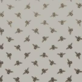 Bees linen oilcloth tablecloth