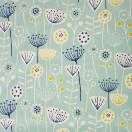 Bergen Seafoam oilcloth tablecloth