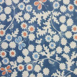 Berwick Denim oilcloth tablecloth