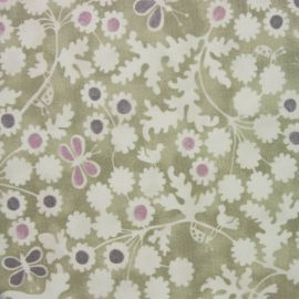 Berwick Olive oilcloth tablecloth