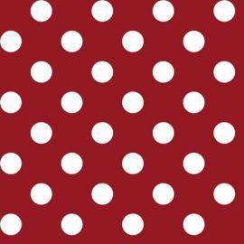 Big Dot Red PVC tablecloth