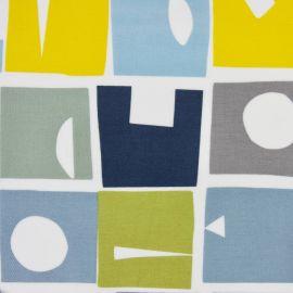 Bonnie Bluebell oilcloth tablecloth