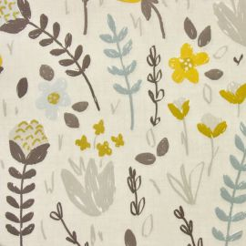 Camilla Grey oilcloth tablecloth