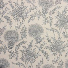 Carlina Dove Grey oilcloth tablecloth