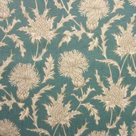 Carlina Teal oilcloth tablecloth
