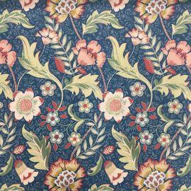 Chester Navy oilcloth tablecloth
