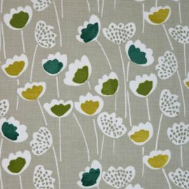 Clara Cactus oilcloth tablecloth