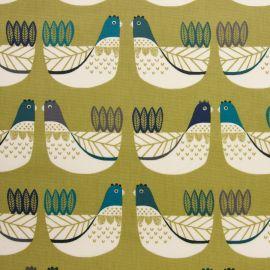 Cluck cluck capri oilcloth tablecloth
