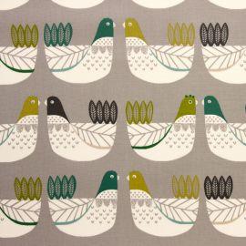 Cluck Cluck kiwi oilcloth tablecloth