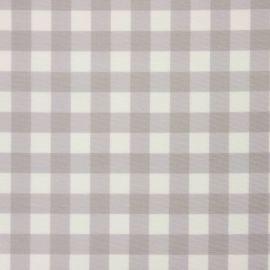 Coniston Grey oilcloth tablecloth