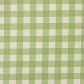 Coniston Sage oilcloth tablecloth