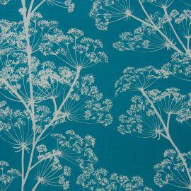 Cowslip Teal oilcloth tablecloth