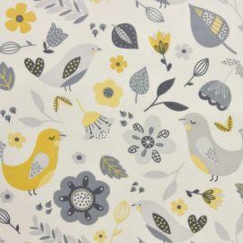 Delarna Ochre oilcloth tablecloth