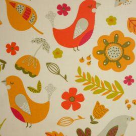 Delarna Tutti Fruity oilcloth tablecloth
