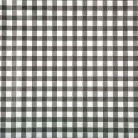 Delta black PVC tablecloth