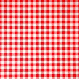 Delta Red PVC tablecloth