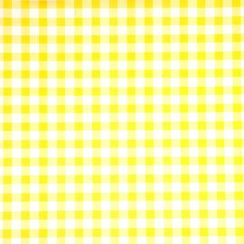 Delta Yellow PVC tablecloth