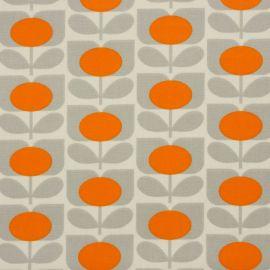 Orla Kiely Ditsy Cyclamen Orange oilcloth tablecloth