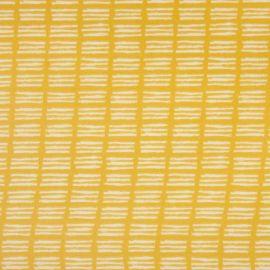 Ditto Saffron oilcloth tablecloth