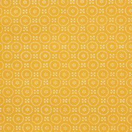 Dolly Ochre oilcloth tablecloth