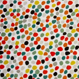 Dot to Dot oilcloth tablecloth