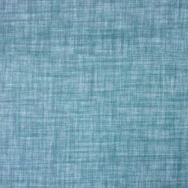 Dunham Teal oilcloth tablecloth
