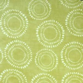 Embankment Fennel oilcloth tablecloth