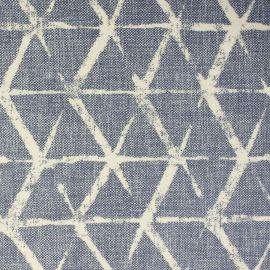 Fabian Denim oilcloth tablecloth